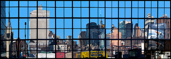 Javits Center Reflection